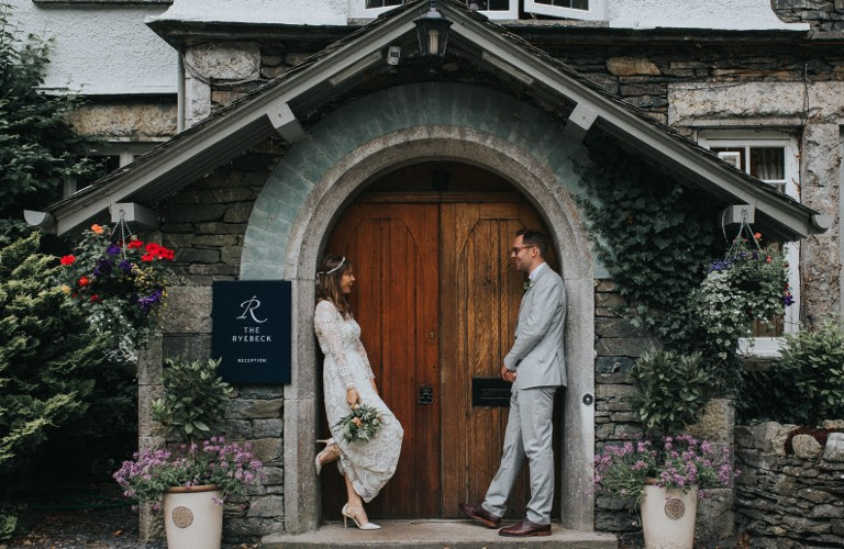 Weddings in the Lake District at the Ryebeck